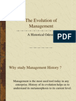 L2 Evolution of Management Theories