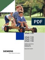 Manual Profiset 3030 E822 E821ST - Siemens