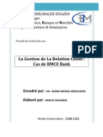 56937669 La Gestion de La Relation Client Cas de BMCE Bank