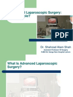 Advanced Laparoscopic Surgery Feasibilty
