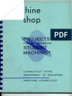 Machine Shop Projects Beginner
