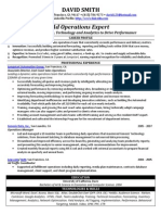 Ad Operations Sample Resume from Freedom Resumes