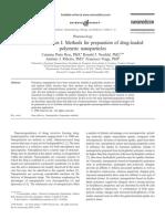 Nanoencapsulation I. Methods for preparation of drug-loaded ¡¡¡¡