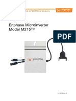 Enphase M215 Installation Operation Manual