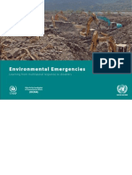 Web Version of Environmental Emergencies - Learning From Multilateral Response to Disasters