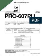 Pioneer Pro 607pu