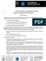 Ultra Vires Acts by the Committee on the Rights of the Child (Summary of the Doc. INT-12-034en}