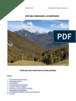 Elementi Del Paesaggio-la Montagna