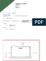 Diseño de Cisterna