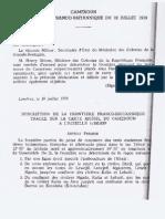 Declaration Franco Britanique