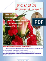 2012 Flores de Mayo  VI Journal