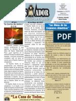 """2012-05-20 """"El Conquistador"""" Boletín Semanal de La Casa de Todos"""