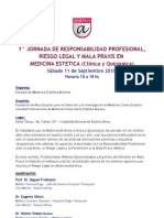 Programa Preliminar - Disertantes - Jornada Mala Praxis