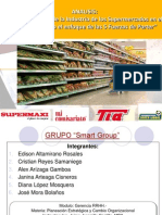 5 Fuerzas Porter Supermercados