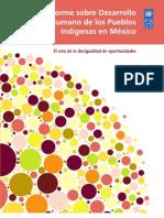 Idh Pueblos Indigenas Mexico 2010
