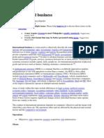 International Business Wiki