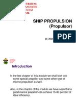 Lecture 1 Propulsor