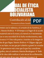 Manual ética socialista bolivariana