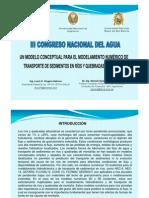 Un Modelo Conceptual Para El to Numerico Quisca 2011