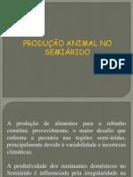 ALIMENTAÇÃO ALTERNATIVA NO SEMI-ARIDO