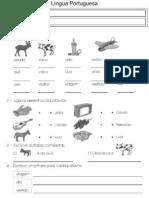 Fichas de Ortografia