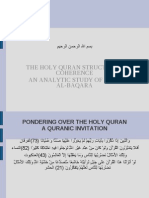 Coherence in the Holy Quran