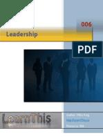 006 Leadership