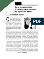 Análise histórico-estrutural da questão agrária no Brasil - Angela Méndez