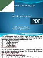 Exercicio Do Word 21-03-2012