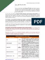 Sentiment Analysis Report for WE 180512 - Proshare