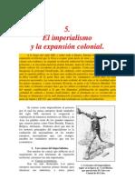 El imperialismo y la expansión colonial