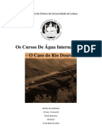 Os Cursos De Água Internacionais - O Caso do Rio Douro