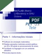 Minicurso Matlab Octave