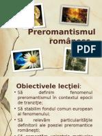 preromantism