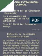 Conciliación Extraj. Laboral - JCastillo
