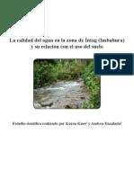 Informe Calidad de Agua Intag Vf