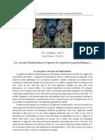 Séminaire EHESS - Résumé - Le concept d'hallucination à l'épreuve des expériences psychédéliques