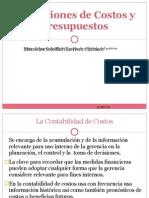 Definiciones de Costos y Presupuestos Clase 01 (03!05!12)