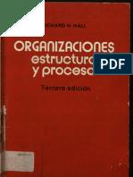 Organizaciones Estructura y Proceso Libro