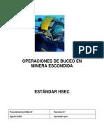 Operaciones de Buceo en MEL
