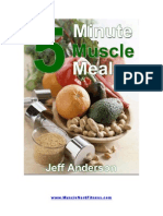 5 Minute Muscle Meals