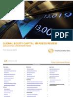 1Q12 Thomson Reuters Equity Capital Markets Review