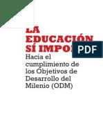 LA EDUCACIÓN SÍ IMPORTA