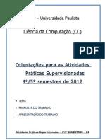 4o e 5o CC - 2011.1