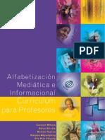 Alfabetización Mediática e Informacional Currículum para profesores