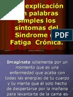 Explicacion Simple Delsindrome de Fatiga Cronica2