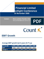 Asx Spotlight Series Count Presentation