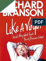 June Free Chapter - Like A Virgin by Richard Branson