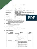 Rencana Pelaksanaan Pembelajaran Mengukur Tegangan AC