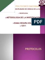 presentacion protocolo metodos